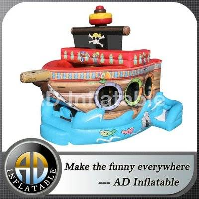 Fun pirate ship bounce slide combo new 2015 inflatable