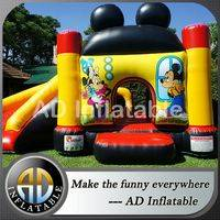 Mickey mouse combo,Mickey mouse bounce house,Air mickey bouncer house