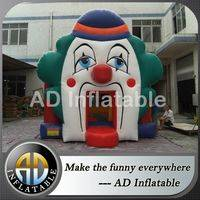 Residential bounce house,Clown inflatable house,Funny bounce house