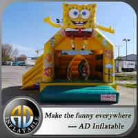 Spongebob bounce house,Spongebob air bouncy slide,Bounce House with Slide