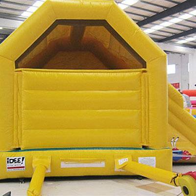 Small Spongebob Inflatable Bounce House with Slide for Sale
