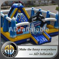 Inflatable funland,Inflatable Playing Funland,Kids Inflatable