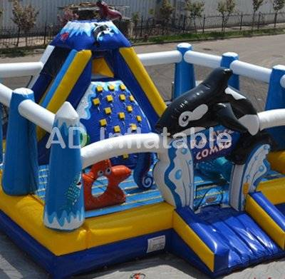 Under the sea pacific Kids Inflatable Playing Funland