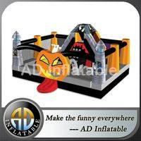 Inflatable wonderland,Haunting Halloween blown combo,Halloween inflatable for party