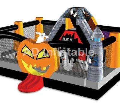 Haunting Halloween inflatable wonderland Combo for party rental
