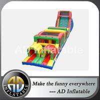 Obstacle course bouncy castles,Adult obstable course,Giant blown obstacle course