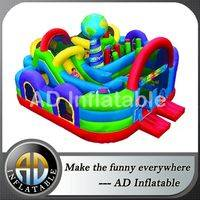Wacky world air obstacle,Inflatable obstacle course,Wackyworld obstacle inflatable