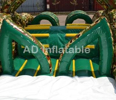 Outdoor Marine Inflatable Military Camp Obstacle Course for Sale