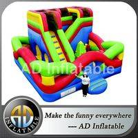 Air commercial obstacle course,Inflatable maze combo,Colorful inflatable obstacle