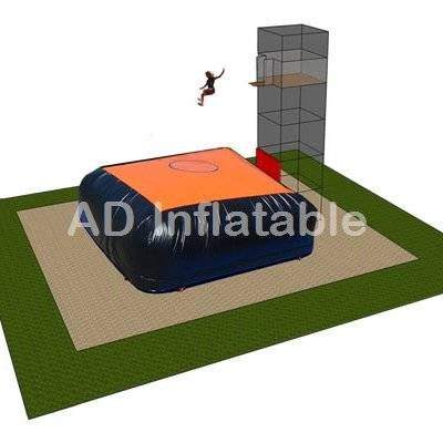 Stunts bouncing air bag for freestyle jump, Safety Bag for Trampolines