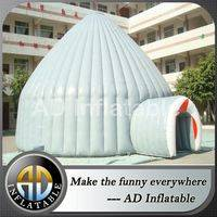 Inflatable tent structure,Inflatable tent with entrance,Inflatable igloo dome tent