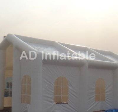 Professional outdoor white inflatable wedding party tent, inflatable tent for wedding