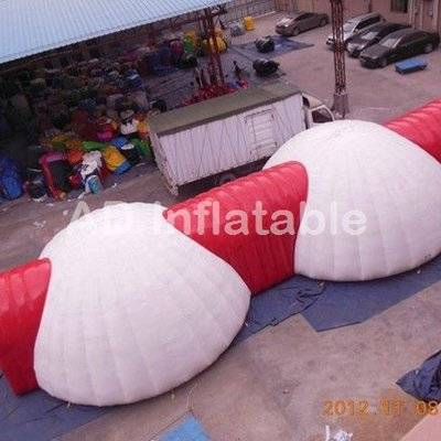 Temporary outdoor air dome tent for outdoor events temporary building
