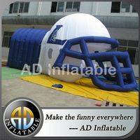 Air football helmet tunnel,Inflatable football tunne,Helmet inflatable tunnel