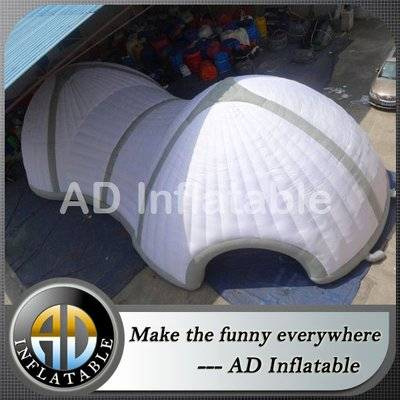 Commercial large inflatable party tent for beach party inflatables exhibition dome