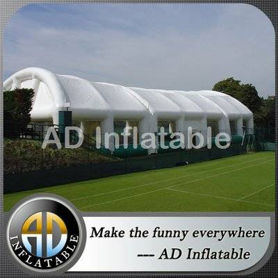 Single deck giant tennis inflatable sports building tent