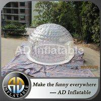 Inflatable transparent dome,Inflatable camping tent,Inflatable tent for exhibition