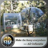 Inflatable transparent tent,Inflatable camping tent,Blown transparent bubble tent