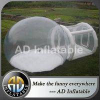 Inflatable clear dome tent,Outdoor camping bubble,Inflatable dome tent