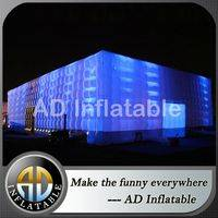 Lighted inflatable tents,Inflatable cube tents,Inflatable tents for party