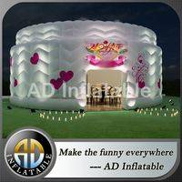 Inflatable cake tent,Lighting tent for party,Inflatable birthday cake tent