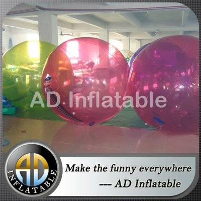 Aqua water running ball, cheap inflatable water running ball for pool