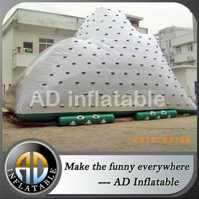 Giant Water park toys of Inflatable iceberg water toy, inflatable iceberg climbing wall equipment