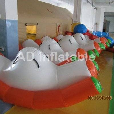 Inflatable water floating totter, inflatable seesaw water totter, inflatable totter wholesale