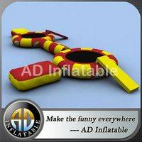 Inflatable water bouncers,Inflatable water trampoline,Inflatable water games