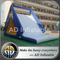 Aquatic slide,Floating water slide,Ocean water slide