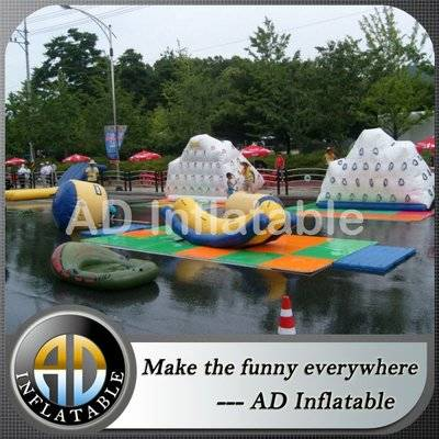 Adult beach Inflatable Sea Water sports games inflatable aquatic water park equipment