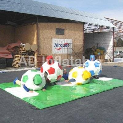 Inflatable Extreme Sport football adult Sumo Suit And Gloves
