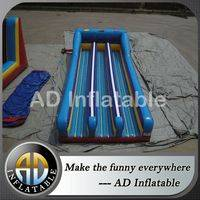 Triple lane bungee run,3 lane inflatable bungee run,Inflatable interactive game