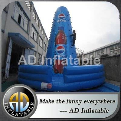 Advertising kids and adult inflatable climbing mountain, Air Rock Mountain Inflatable Climbing Walls