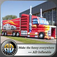 Inflatable dumper trucks,Inflatable Truck Obstalce,Inflatable Obstacle Course
