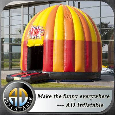 Inflatable bounce disco dome house for sale, inflatable disco dome bouncer house