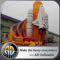 Inflatable rocket ship slide,Rocket Space slide,Inflatable rocket slide