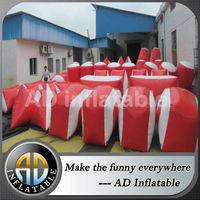 Inflatable paintball field,Inflatable bunkers field,Inflatable Paintball Sport
