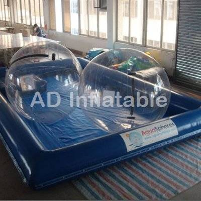 Inflatable water pool with cover, custom inflatable pool, inflatable ball pool