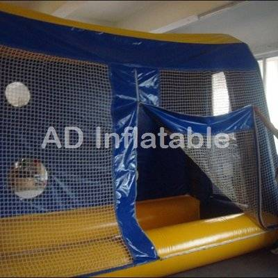 Outdoor Inflatable Football Pitch Soccer Course, Soccer Inflatable Playground, water football pitch