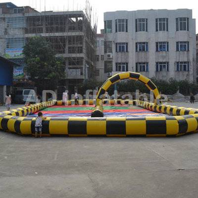 Inflatable race track Go Racer for car or zorb ball