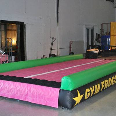 Inflatable jumping mat/inflatable gym mat/20ft Inflatable Tumble Mat