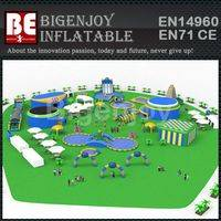 PVC tarpaulin water park,inflatable floating water park,giant water park