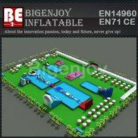 Entertainment Water Park,Blow Up Inflatable Water Park,Games Ultimate Water Park