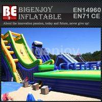China Bouncy Water Slide,Inflatable Bouncy Water Slide,Giant Bouncy Water Slide