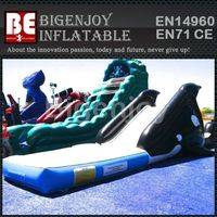 Attractive Inflatable Slide,Whale Figure Inflatable Slide,Figure Inflatable Slide