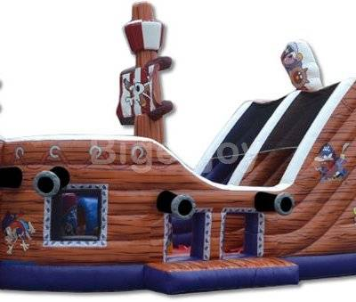 Pirate Bouncy Castle Hire Inflatable Slide