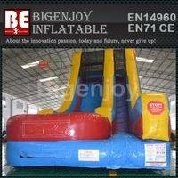 New design inflatable slide,giant outdoor inflatable slide,inflatable slide
