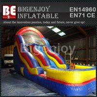 New giant playground slide,inflatable dry slide,playground inflatable dry slide