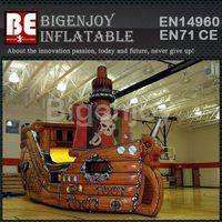 Fire Retardant Inflatable Pirate Slide,Inflatable Pirate Slide For Amusement Park,Full Printing Giant Inflatable Pirate Slide
